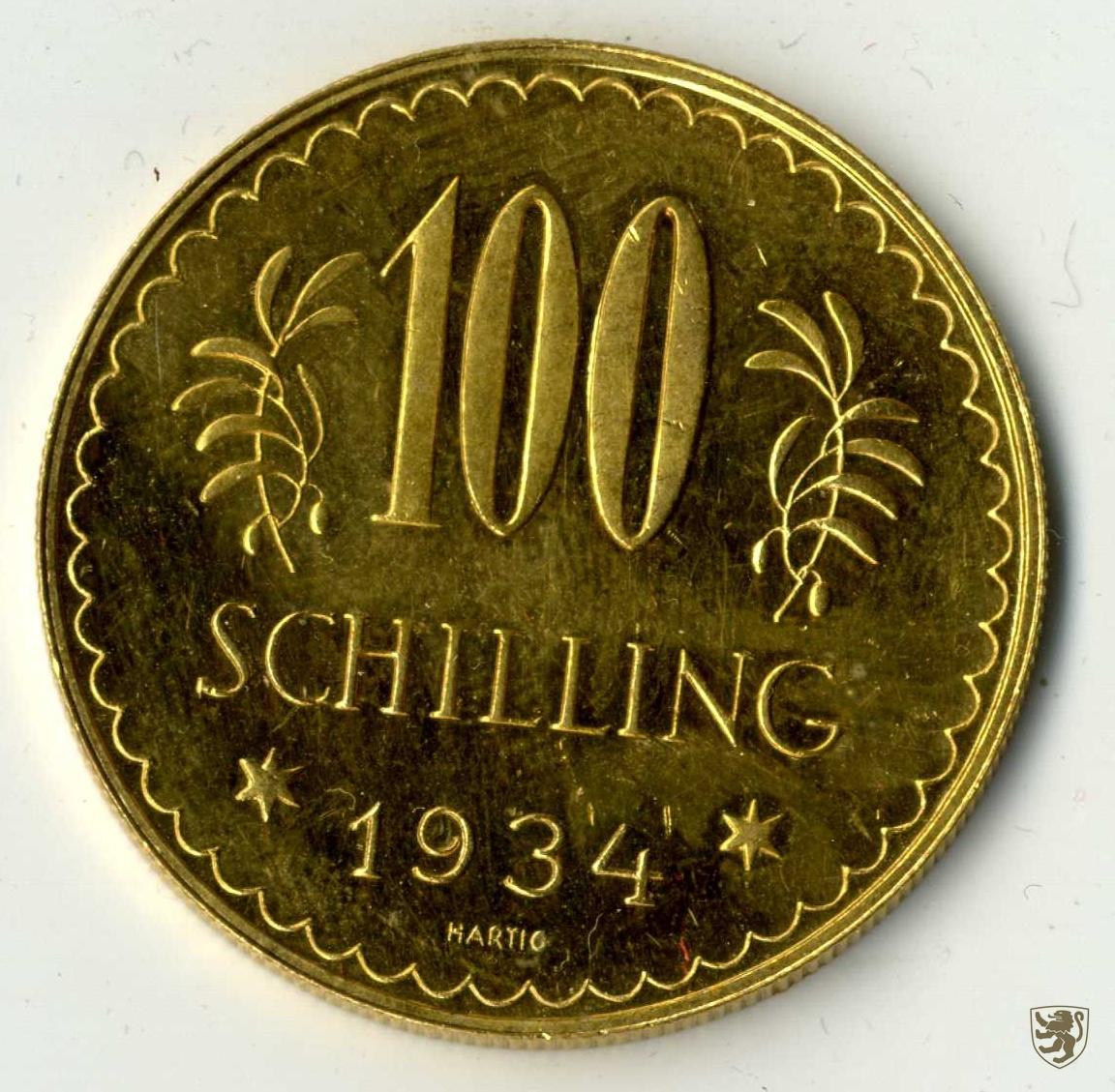 sterreich republik 100 schilling 1934 wien fr 520 ebay. Black Bedroom Furniture Sets. Home Design Ideas