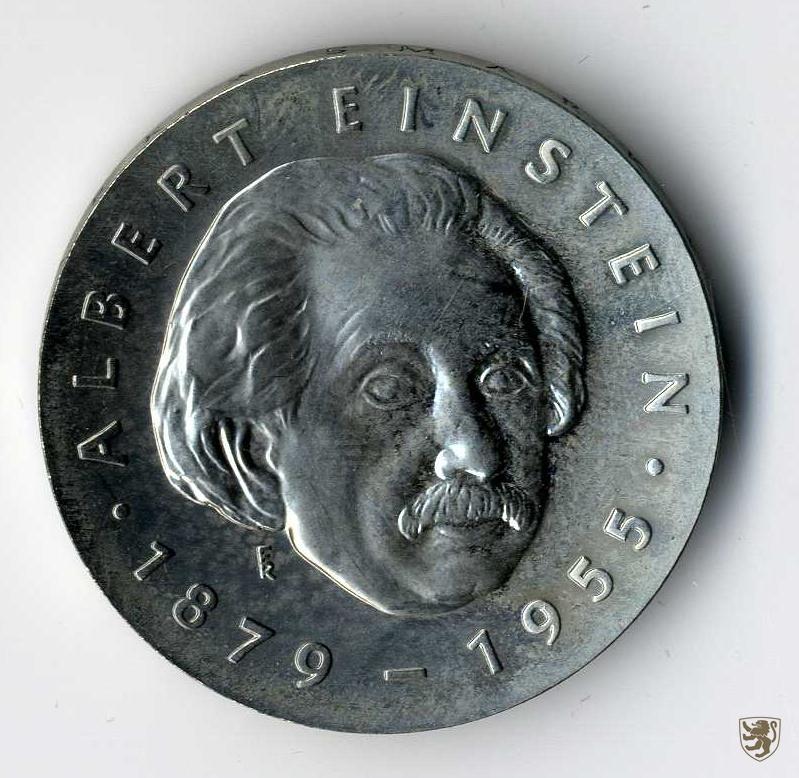 Ddr 5 Mark 1979 Albert Einstein Jg 1572 Unzirkuliert Ebay